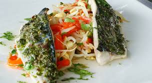 cuisiner le maquereau au four recette filet de maquereaux au four tartare d algues de