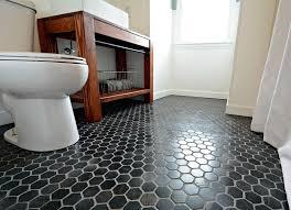 Bathroom Tiles Color White Hexagon Bathroom Tile Classic But Wonderful Hexagon