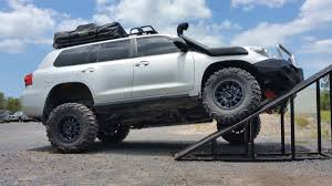 toyota cruiser lifted the r u0026d team testing out a new lift kit in development for the