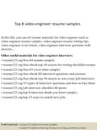 Resume Editing Video Resume Sample Download Video Resume Sample