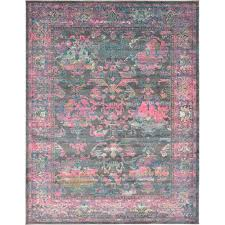 Pink Area Rugs Round Area Rugs On Dhurrie Rugs With Lovely Pink And Gray Rug