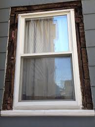 Home Windows Outside Design by How To Replace Exterior Window Trim House To Do Pinterest