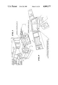 patent us4809177 multiplexed electrical wiring system for a
