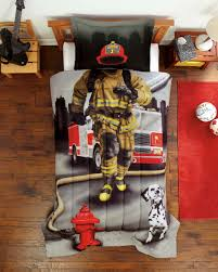 firefighter kids room decor color ideas creative firefighter