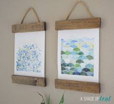 Easy Diy Bedroom Wall Art Remodelaholic 6 Easy Diy Art Projects August Link Party