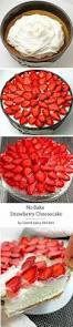 tasty strawberry cheesecake recipes on pinterest cheesecake