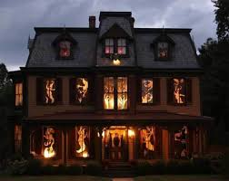 house decorated for halloween halloween christmas decorations cute