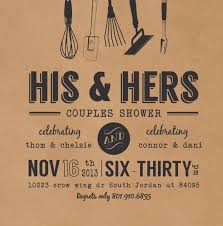 couples shower invitations coed bridal shower invitations we like design