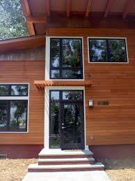modern exterior window trim