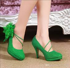 wedding shoes green 2015 bridal fashion green wedding shoes bridesmaid high heels