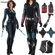 ultron costume age of ultron black widow costume custom made