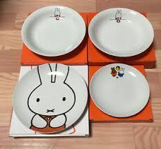 60th anniversary plates new miffy anniversary plates 4 dishes lawson japan ltd