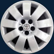 2004 toyota corolla hubcaps replica toyota corolla 15 hubcap 2005 2008 silver hubcaps
