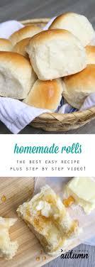 best 25 dinner rolls easy ideas on bread rolls