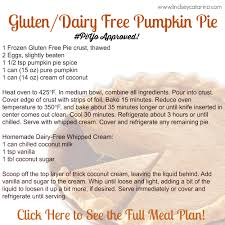 check out this delicious recipe for gluten dairy free pumpkin