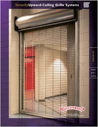 Security Overhead Door Spectacular Overhead Door Security Grilles F62 In Home