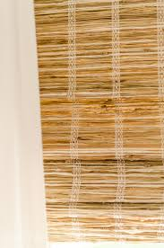 woven wood shades in our living room 6526 a burst of beautiful
