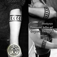 solid armband tattoo tribal line arm tattoos armband tattoo arm
