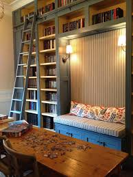 Bookcase With Ladder Friday Favorite Library Bookcases With Ladders Homework Nook