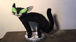 gemmy animated alley cat halloween decoration youtube