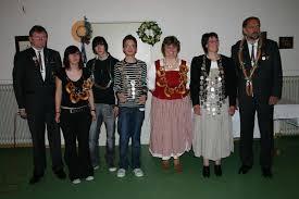 Die Schützenkönige 2008 v.l.n.r. Werner Vorreiter (Sportleiter - kein König), Lena Lender, Sven Lender, Max Lossa, Sylvia Hansmann, Birgit Moritz, ... - IMG_2326