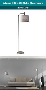 adesso 4071 22 blake floor lamp a soft contemporary statement