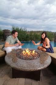 Oriflamme Sahara Fire Table by Tropical Elegance Oriflamme Fire Pit Tropical Fire Pit