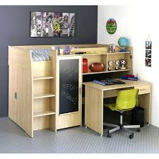 lit superposé avec bureau pas cher lit superpose avec rangement pas cher lit bureau pas structure lit