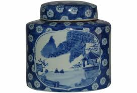 Ginger Home Decor by Hand Painted Chinese Ginger Jar Omero Home