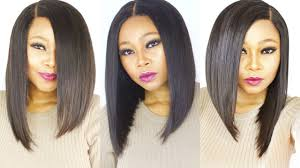 bob hair extensions with closures how to make cut a versatile bob wig start to finish with