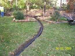 subsurface drainage service ski landscape
