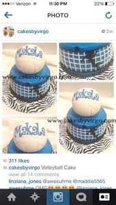 volleyball cake cakes with grace pinterest volleyball cakes
