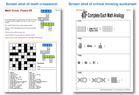 Critical thinking worksheets for  rd grade EduDream co