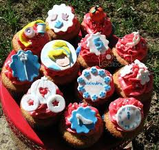 Cinderella Cupcakes Princess Cinderella Cupcake U2014 Childrens Birthday Cakes Food