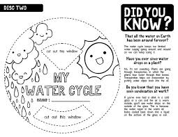 water cycle worksheet b w 2 water cycle worksheets and