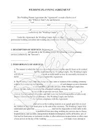 doc 585550 wedding contract template u2013 16 wedding contract