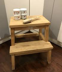 ikea step stool rroom me ikea step stool collage stool makeover making it in the mountains