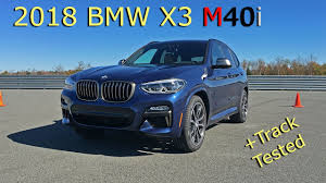 2018 bmw x3 m40i g01 tested on track review youtube