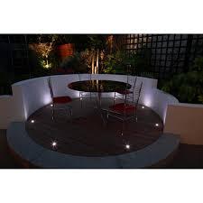 kichler deck lights uniled led lighting box set of square deck lights stainless