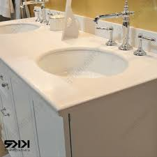 Solid Surface Vanity Tops For Bathrooms by Bathroom Vanities Surfaces 61 Double Bowl Vanity Top Solid Surface