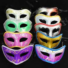 cool mardi gras masks fashion feather cool eye kabuki mask for birthday party buy