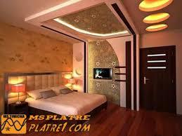 chambre pour une nuit chambre de nuit dans platre faux plafond pour a coucher int rieur