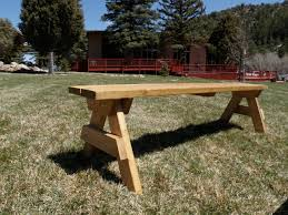 Rustic Wooden Bench Rustic Wooden Bench Rental Colorado Settings Event Rental