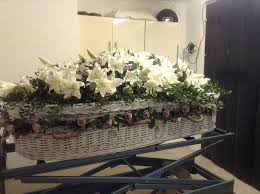 wicker casket 7 best wicker coffin floral arrangements images on