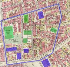City Of Boston Map by North End Site Through Time Once And Future City