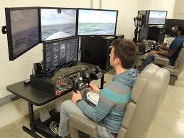 Flight Sim Desk College Of Engineering News U2022 Iowa State University