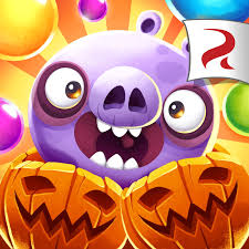 image angry birds pop square icon halloween png angry birds