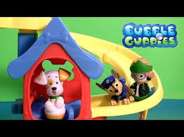 paw patrol u0026 bubble guppies puppy playhouse nickelodeon patrulla