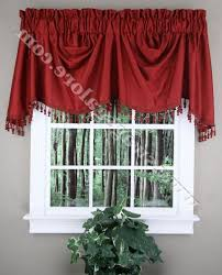 Red Kitchen Curtains And Valances by Red Kitchen Curtains And Valances Modern My Kitchen Remodel