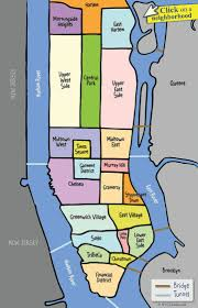 Map Of New York And Pennsylvania by Best 25 Map Of Manhattan Ideas On Pinterest Map Of New York